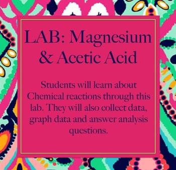 Lab: Magnesium & Acetic Acid