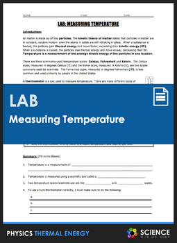 Lab - Predicting and Measuring Temperature in Celsius