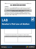 Lab - Newton's First Law of Motion - Investigating Inertia
