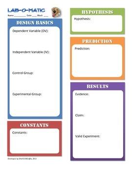 Lab-O-Matic Vocabulary Tool