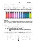 Lab Packet: Using a Red Cabbage Indicator to Determine pH