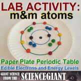 Lab: Paper Plate Periodic Table and m&m Atoms - Energy Levels and Electrons