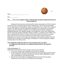 Lab Periodic Table Activity Simulation: Alien Element Orga