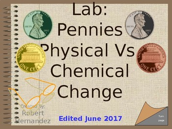 Lab: Physical and Chemical Changes in Pennies