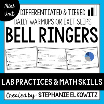Lab Safety, Tools and Skills Bell Ringers