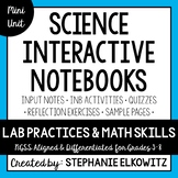 Lab Practices and Math Skills Interactive Notebook Unit