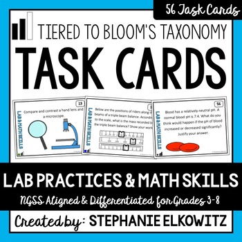 Lab Safety, Tools and Skills Task Cards
