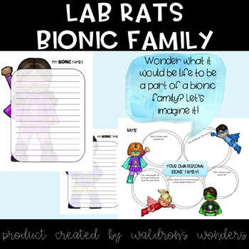 Lab Rats - Make your own Bionic Family