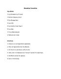 Lab Recipe Example