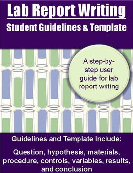 Lab Report Guidelines & Template
