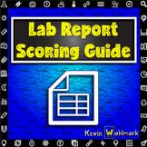 Lab Report Scoring Guide Rubric