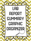 Lab Report Summary Graphic Organizer