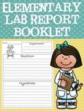 Lab Report / Scientific Method PRINTABLE & GOOGLE SLIDES