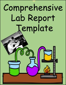 Lab Report Template (Editable)
