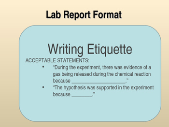 Lab Report Template PowerPoint