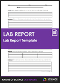 Lab Report Template (With Writing Prompts)