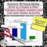Lab Report Writing Skills How to Create a Bar Graph and Cut and Paste Activity