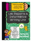 Lab Reports and Informative Writing