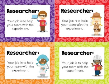 Lab Role Assignment Cards