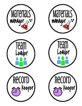 Lab Role Circles