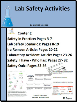 Lab Safety Activities