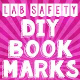 Lab Safety Bookmark Freebie