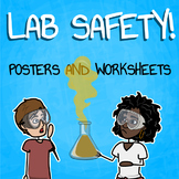 Lab Safety Worksheets and Posters