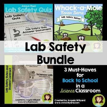 Lab Safety Bundle {Back to School} SMART Board