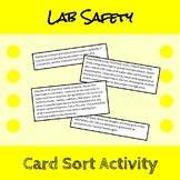 Lab Safety Card Sort
