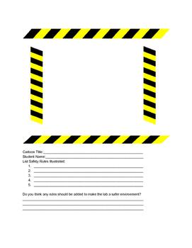 Lab Safety Cartoon