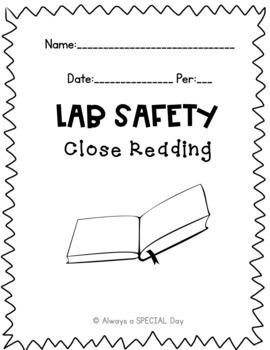 Lab Safety: Close Reading