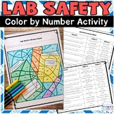 Lab Safety Color by Number Review Activity