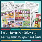 Lab Safety Coloring (and MORE!)