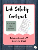Lab Safety Contract- Color