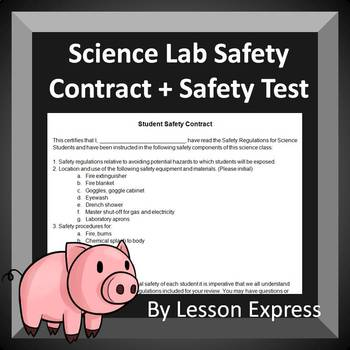 Lab Safety Contract and Safety Test