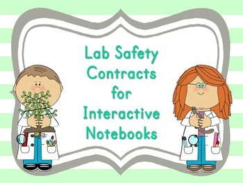 Lab Safety Contracts for Interactive Notebooks