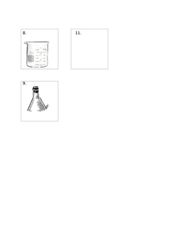 Lab Safety & Equipment Crossword