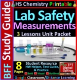 Lab Safety, Equipment & Measurements BFF: Homework Helper and Test Prep Guide