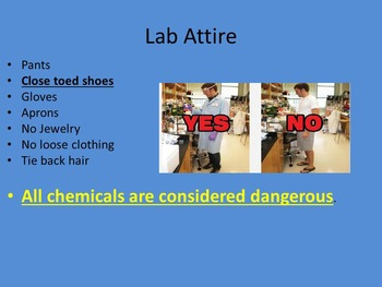 Lab Safety Guidelines and Powerpoint