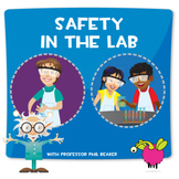 Lab Safety Lesson Plan Package with group and individual activities