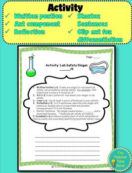 Scientific Investigation Lesson: Lab Safety