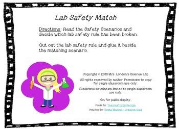 Lab Safety Match