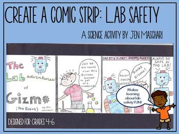 Lab Safety Mini-Unit: Create a Comic