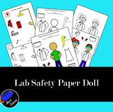 Lab Safety Paper Doll +Bonus Game