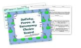 Bundle-Lab Safety, Physics, Biology Choice Boards