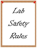 Lab Safety Posters and Scenarios