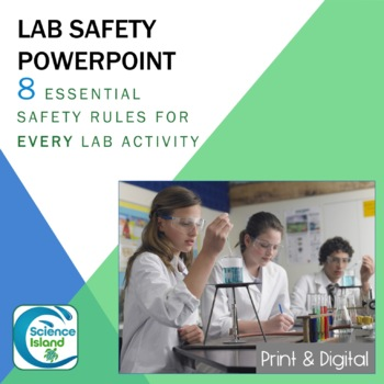 Lab Safety PowerPoint for Secondary Science