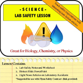 Lab Safety Procedures Lesson