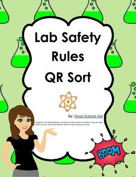 Lab Safety QR Code Rule Sort