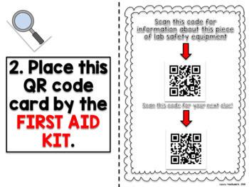 Lab Safety QR Code Scavenger Hunt